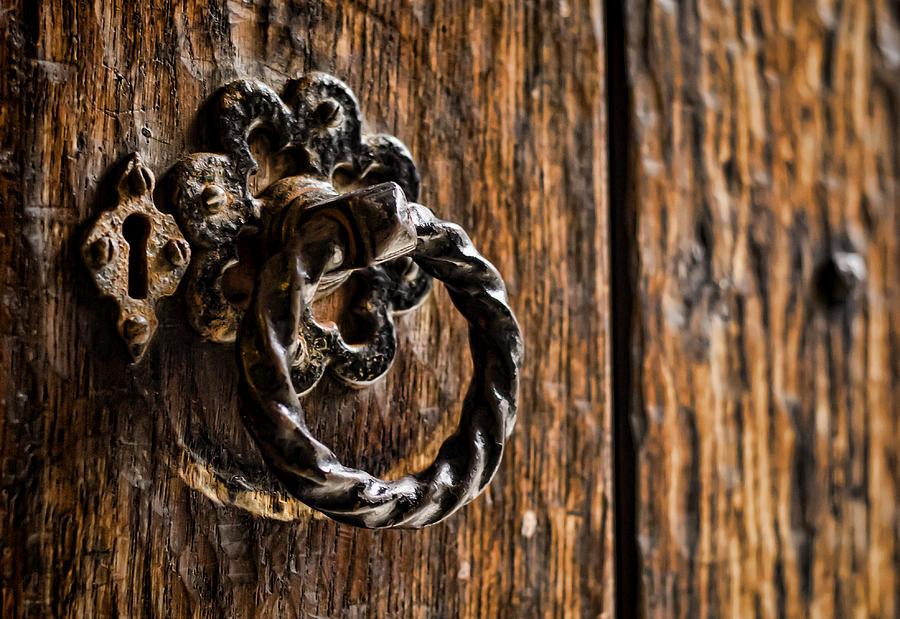 Door Knocker Photograph - Door Knocker by Heather Applegate