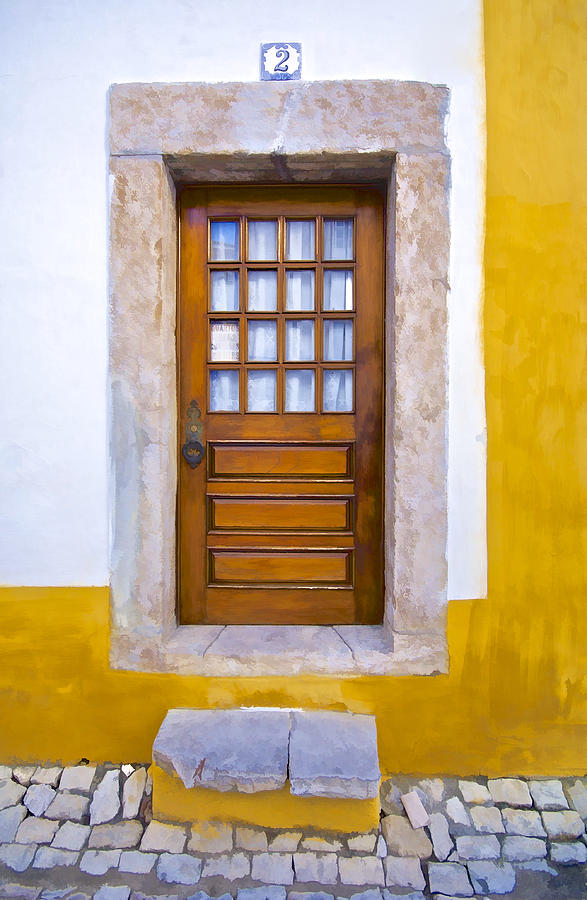Brown Photograph - Door Number Two by David Letts