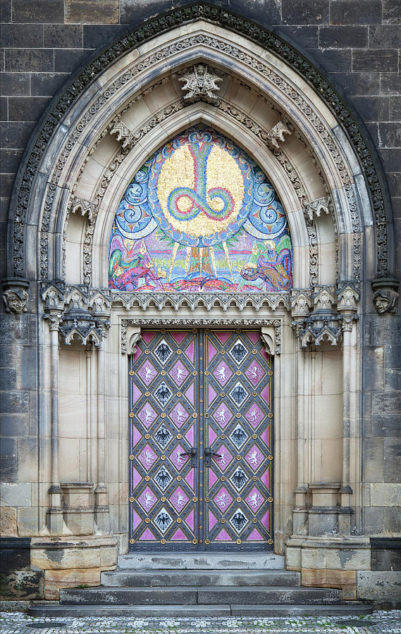 Door Of Saint Peter And Paul Cathedral Photograph by Gooddenka