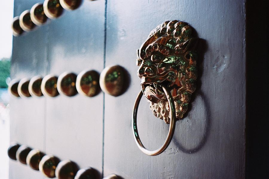 Door Ring Photograph by Photography By Bert.design