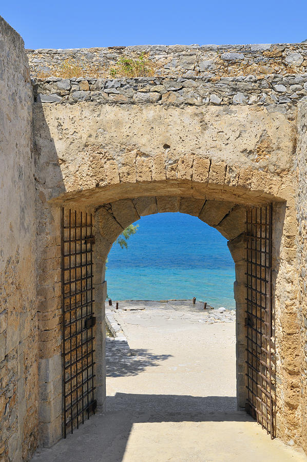 Serenity Photograph - Door To Joy And Serenity - Beautiful Blue Water Is Waiting by Matthias Hauser