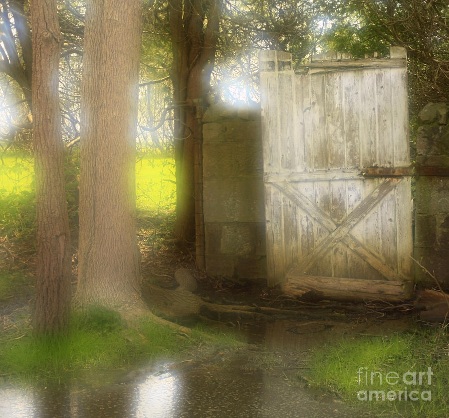 Door Photograph - Door To Other Realms by Inspired Nature Photography Fine Art Photography