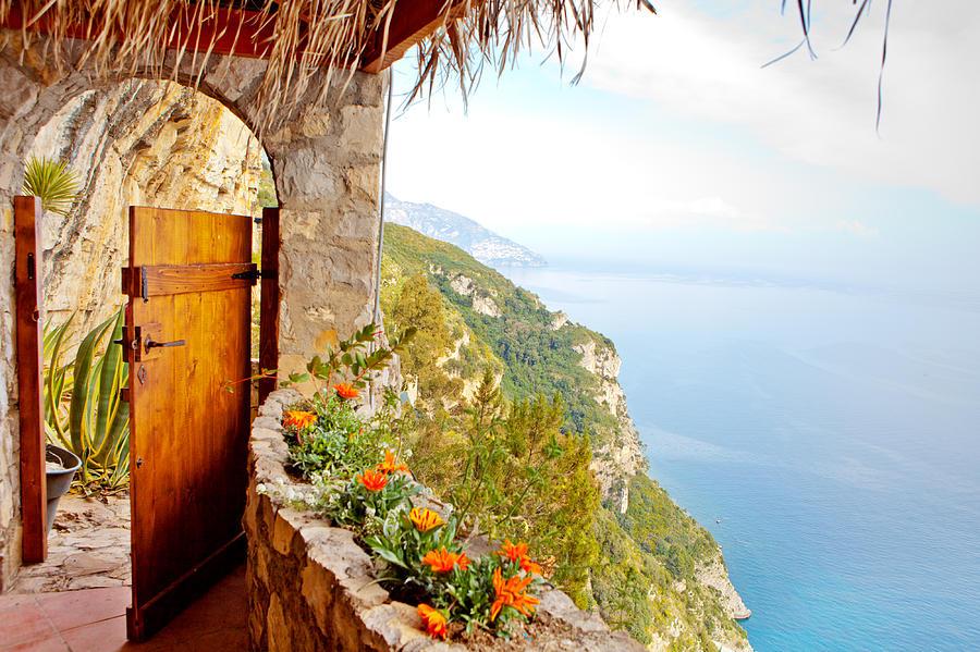 Door Photograph - Door To Paradise by Susan Schmitz