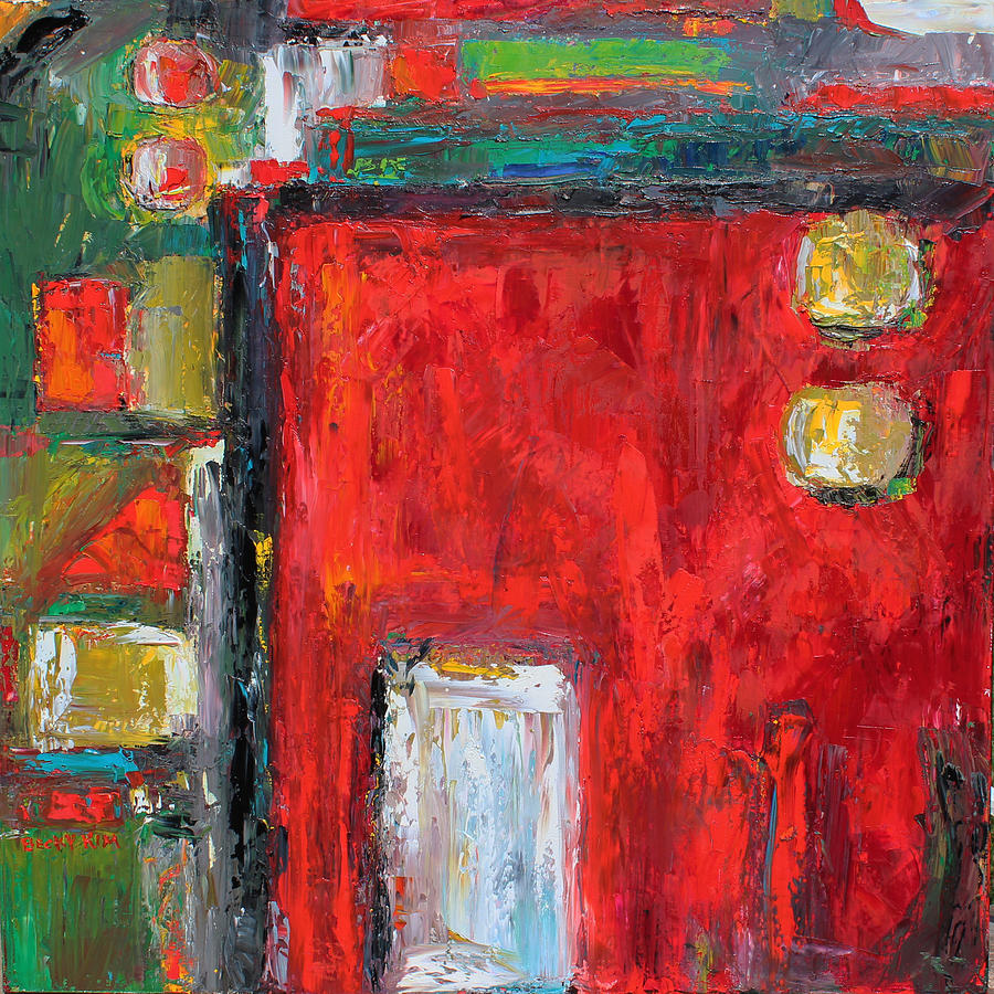 Abstract Painting - Doors And The Door by Becky Kim