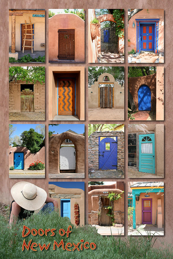 New Mexico Photograph - Doors Of New Mexico II by Heidi Hermes