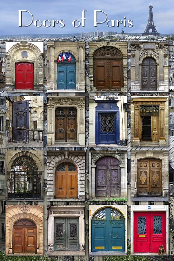 Paris Photograph - Doors Of Paris by Heidi Hermes