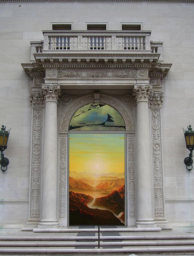 Doorway Mixed Media - Doorway 11 by Karma Moffett