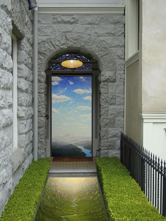 Doorways Mixed Media - Doorway 2 by Karma Moffett