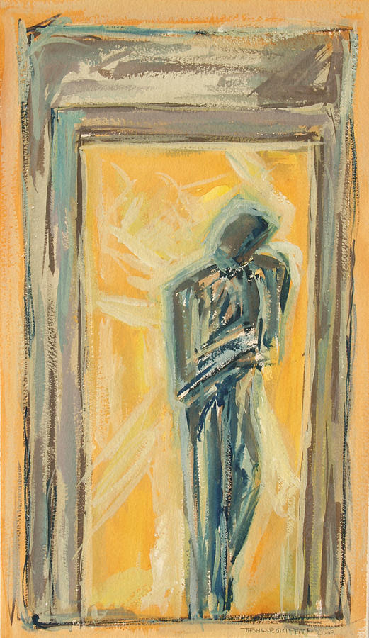 Mental Painting - Doorway 2009 by Thomas Griffith
