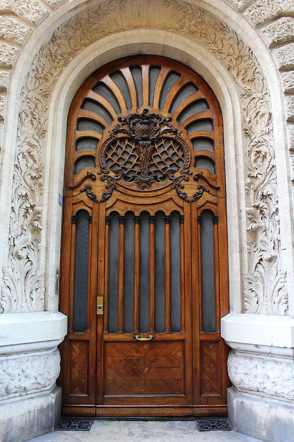 Doorway Art Deco France Painting by Bridget Brummel