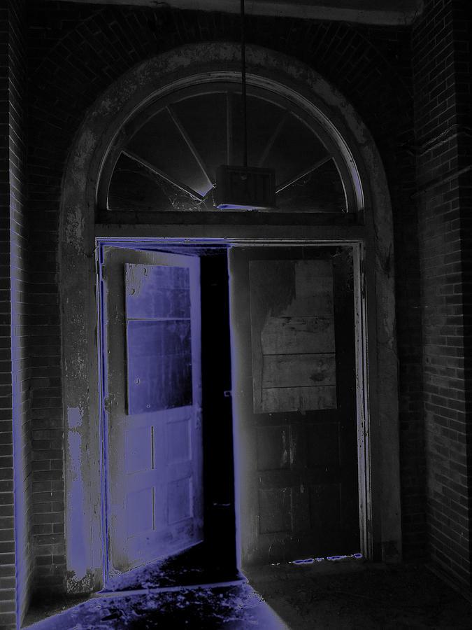 Old Photograph - Doorway Into The Dark by Aaron Martens