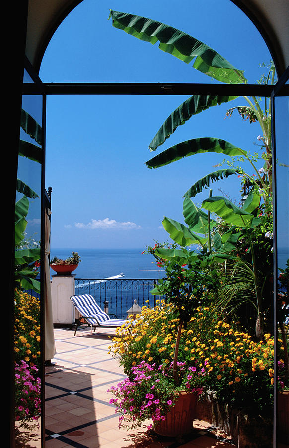Doorway To Terrace At Hotel Punta Photograph by Dallas Stribley