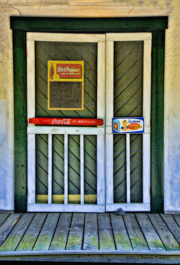 Kenny Francis Photograph - Doorway To The Past by Kenny Francis