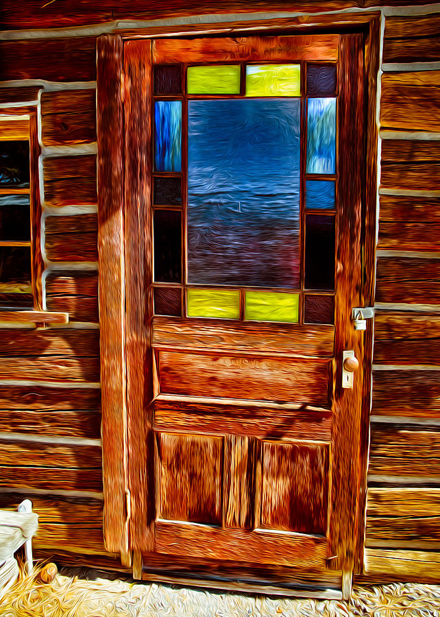 Light Painting - Doorway To The Past by Omaste Witkowski