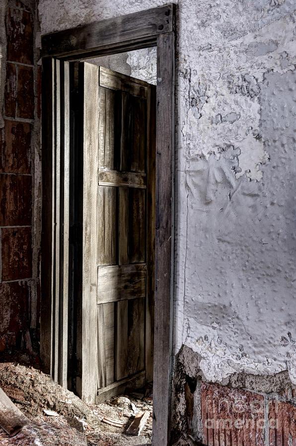 Door Photograph - Doorway To The Unknown by Margie Hurwich