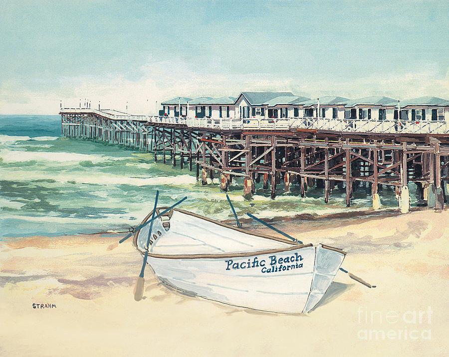 Crystal Pier Pacific Beach San Diego by Paul Strahm