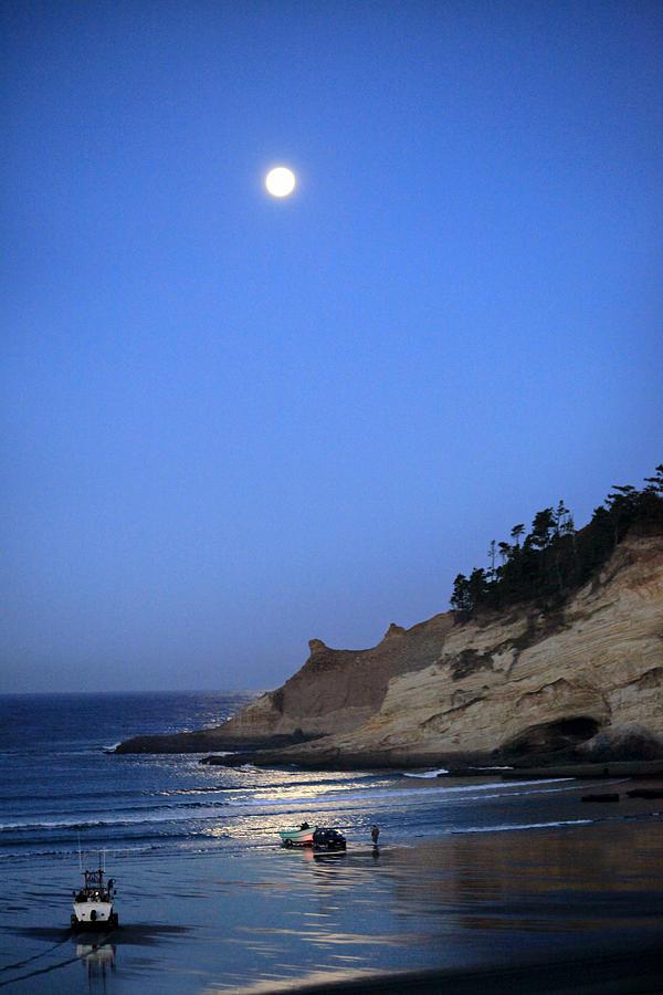 Pacific City Photograph - Dories At Dawn by Tiana McVay