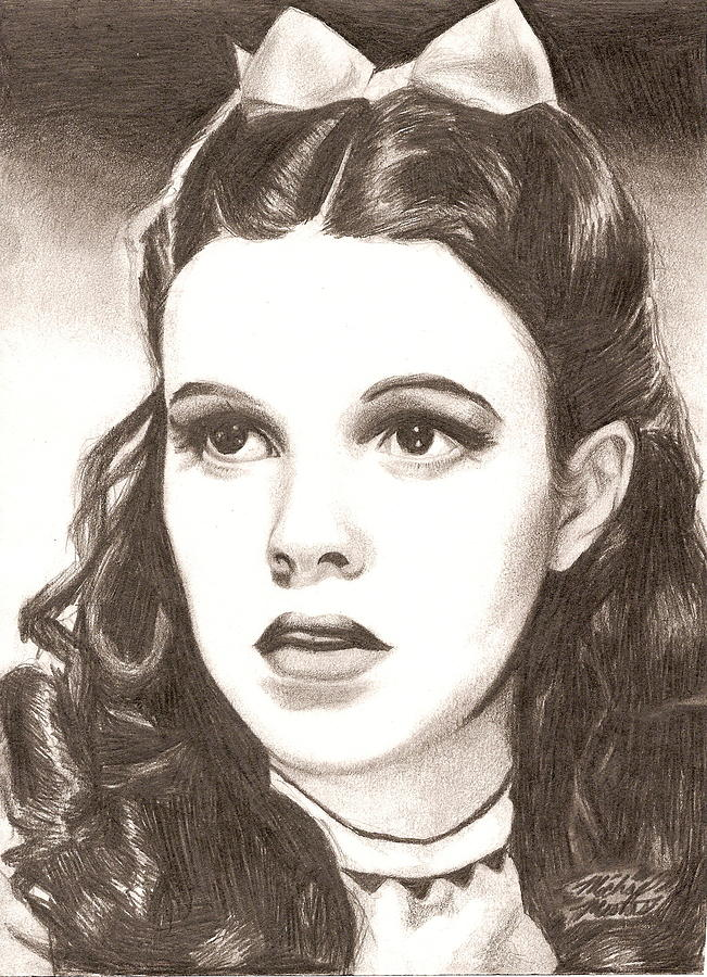 Dorothy Drawing - Dorothy by Michael Mestas