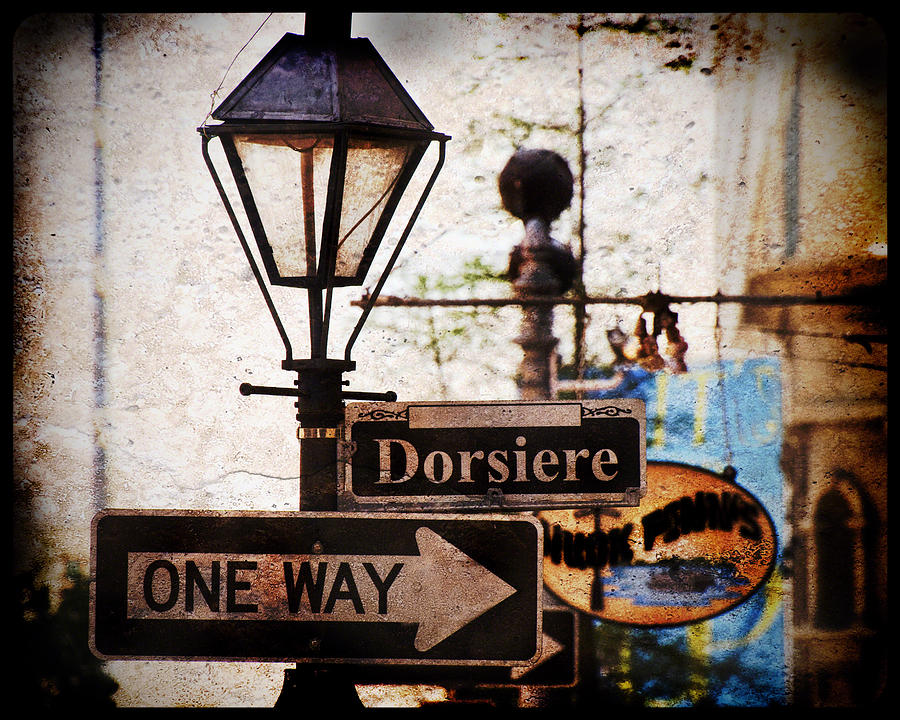 New Orleans Photograph - Dorsiere by Ray Devlin