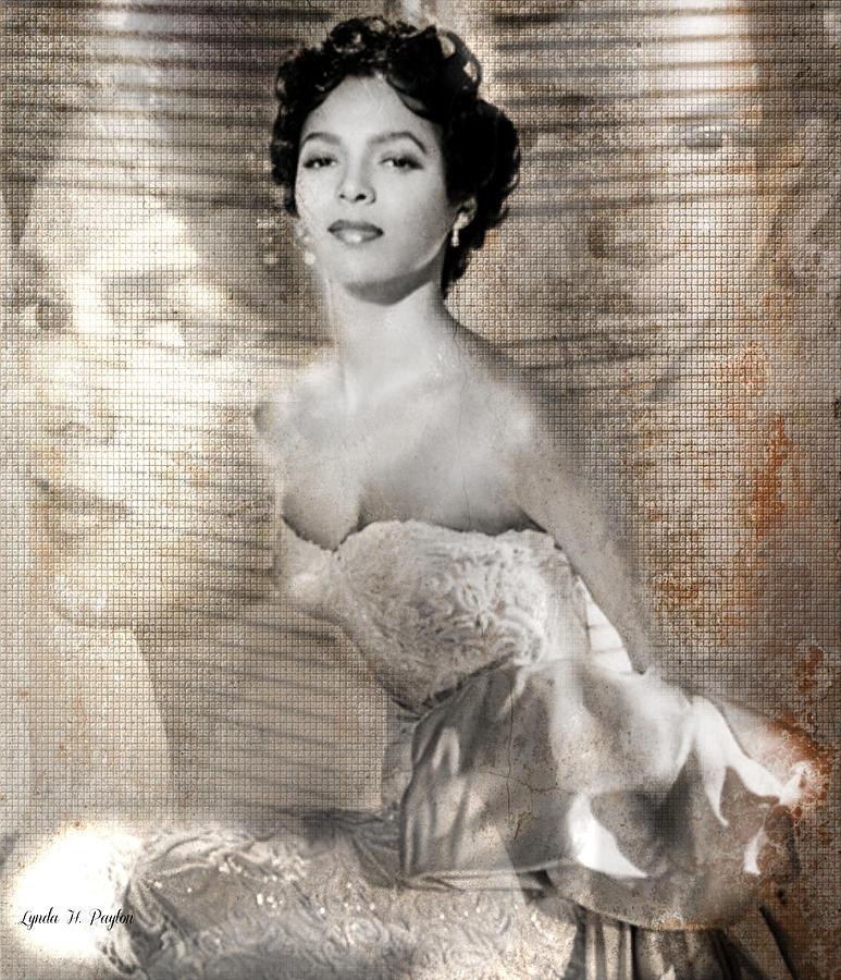 1940s Portraits Photographs Digital Art - Dorthy Dandridge by Lynda Payton
