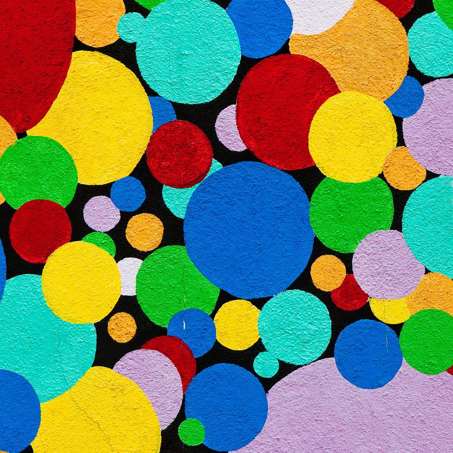 Dot Photograph - Dot Graffiti by Art Block Collections