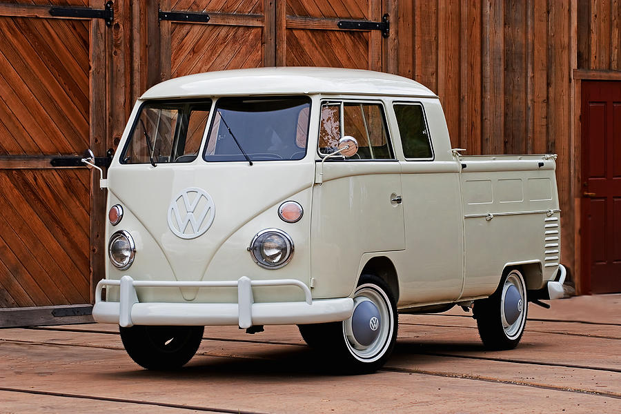 Automobile Photograph - Double Cab by Peter Tellone