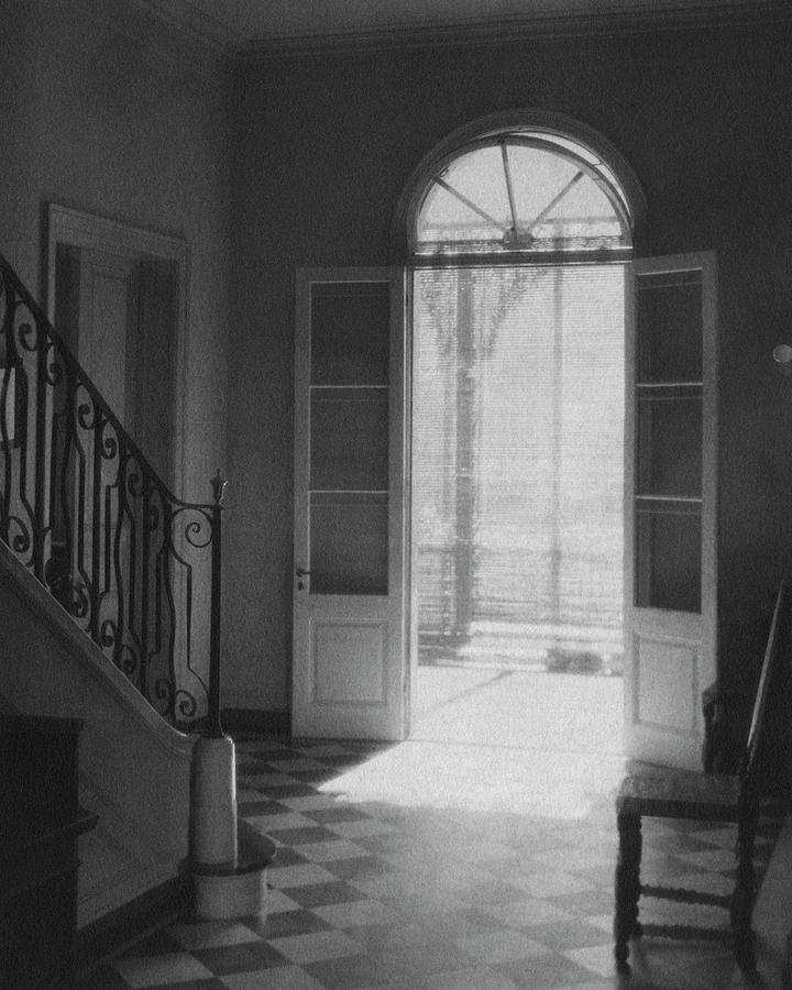Double Doors In The Home Of Dr. Joseph Weis Photograph by Raymond Bret-Koch