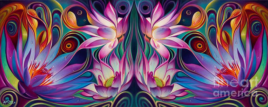 Double Floral Fantasy 2 by Ricardo Chavez-Mendez