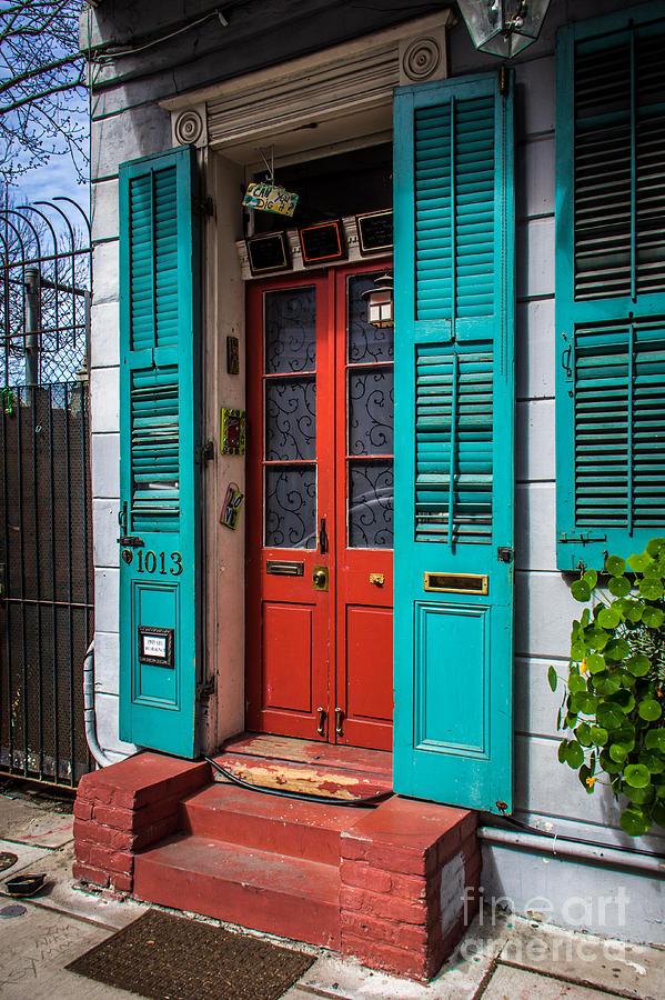 Double Red Door Photograph