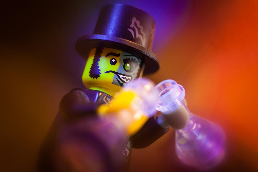 Lego Photograph - Double Up by Ernest M Aquilio