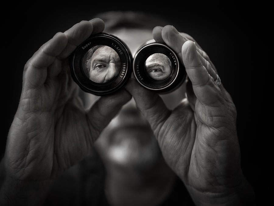 Double Vision Photograph by Photo by marianna armata
