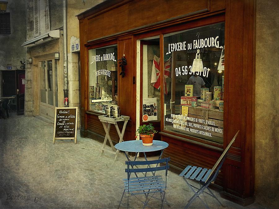 Old Town Photograph - Douce France - Annecy by Barbara Orenya