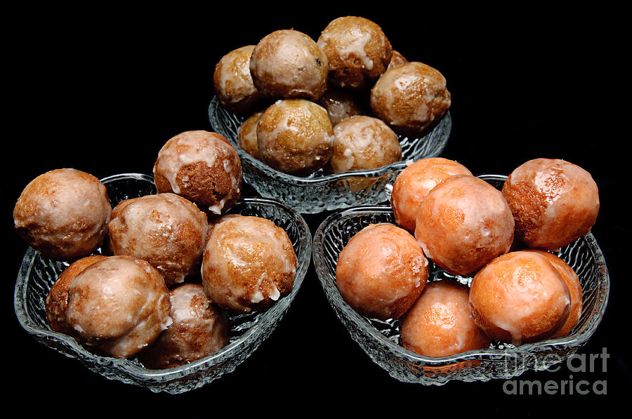 Donut Photograph - Dough Nut Holes by Andee Design