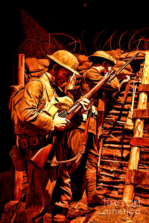 Doughboys Photograph - Doughboys  by Tommy Anderson