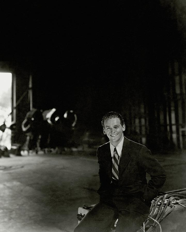 Douglas Fairbanks Jr On A Film Set Photograph by Cecil Beaton