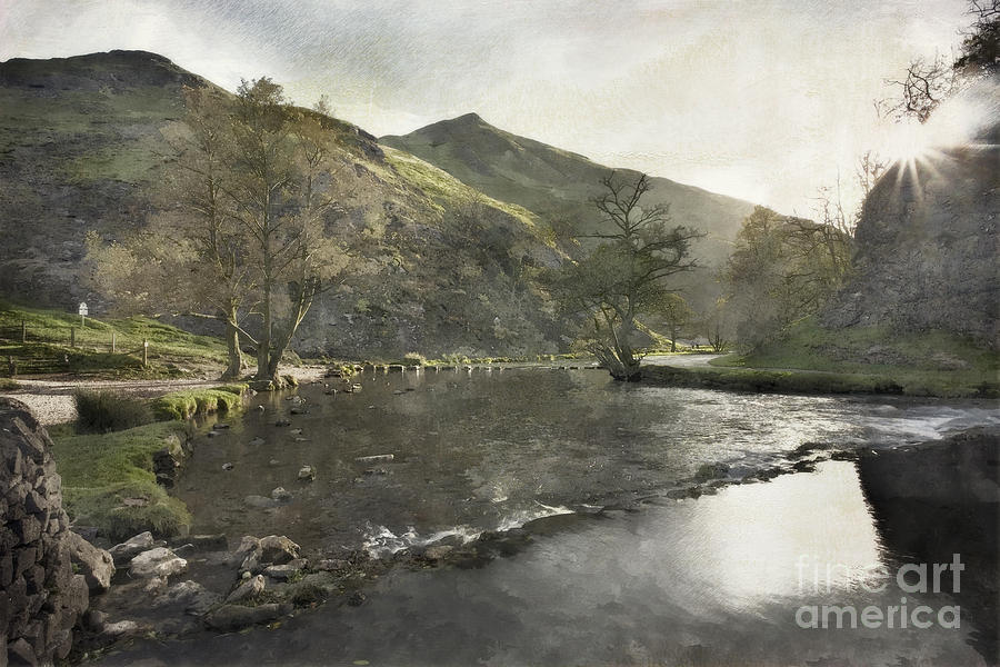 Dale Photograph - Dovedale by Julie Woodhouse