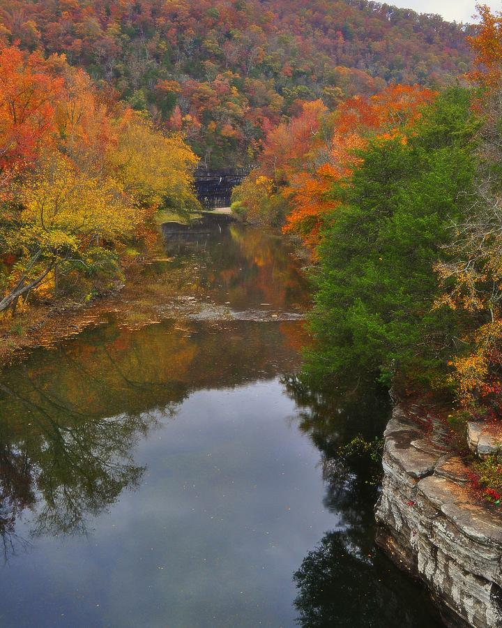 Buffalo River Photograph - Down From Ponca by Marty Koch