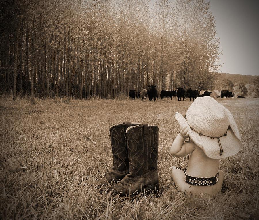 Farm Photograph - Down On The Farm by Kami McKeon