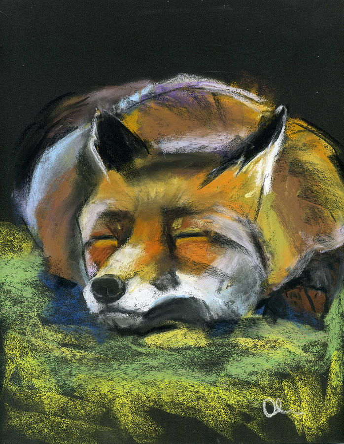 Animals Pastel - Down To Earth by Lelia Sorokina
