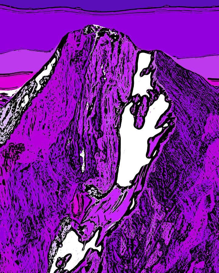 Downie Peak - British Columbia Digital Art