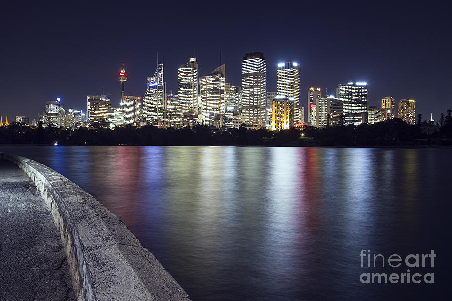 Sydney Photograph - Downtown by Andrew Paranavitana