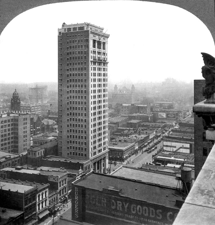 1914 Photograph - Downtown Birmingham by Underwood Archives