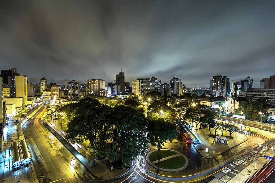 Downtown Curitiba Photograph by © Jean Chad
