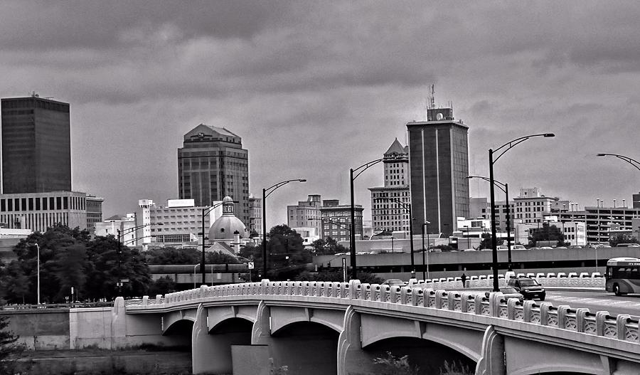 Downtown Dayton Ohio Photograph By Dan Sproul