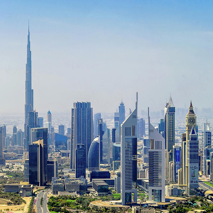 Downtown Dubai Photograph by Joseph Plotz
