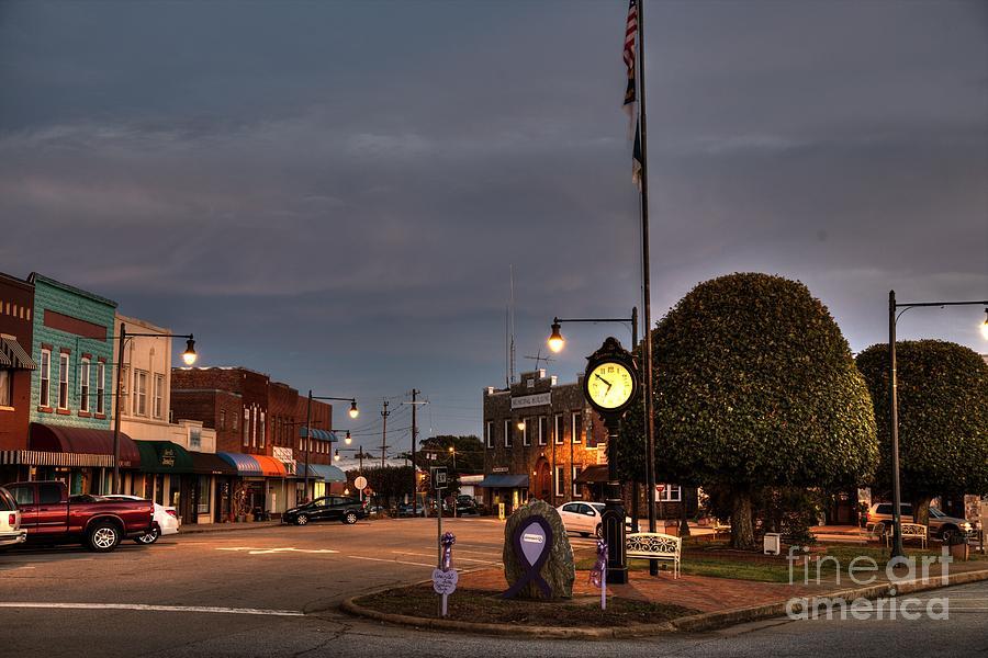 Downtown Granite Falls North Carolina Photograph By Robert Loe