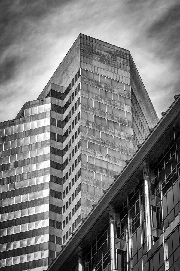 Downtown Houston Architecture Photograph