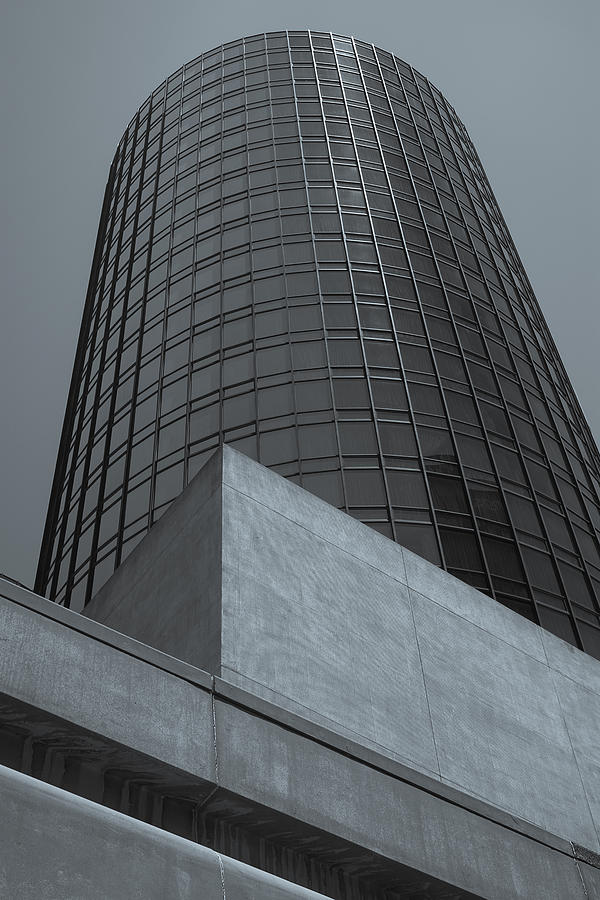 Los Angeles Photograph - Downtown La Skyscraper by Pro Shutterblade