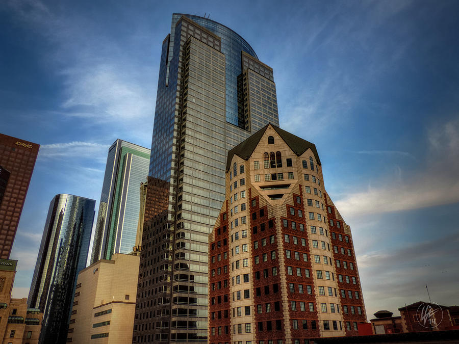 Downtown Los Angeles Photograph - Downtown Los Angeles 002 by Lance Vaughn