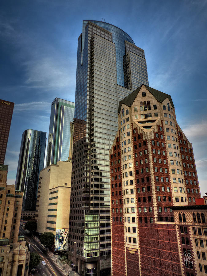 Downtown Los Angeles Photograph - Downtown Los Angeles 003 by Lance Vaughn